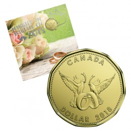 2018 Canada Wedding Coin Gift Set
