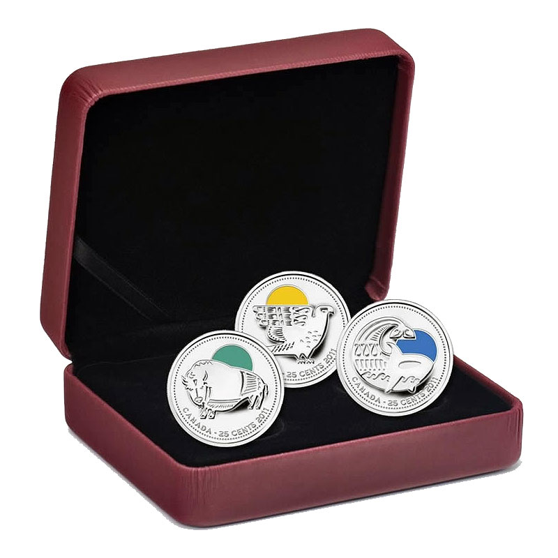 Sterling Silver Coin Set 2011 Canadian Conservation Successes Our Legendary