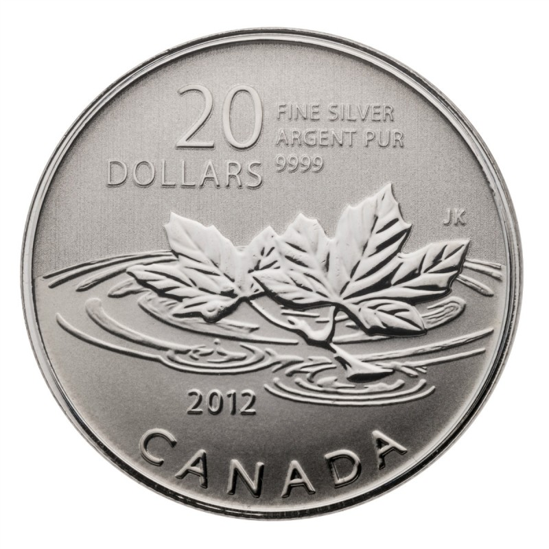 2011 2015 Canada Fine Silver 20 For 20 Amp 25 For
