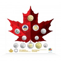 2017 Canadian 12-Coin Collection - Canada 150 Celebration