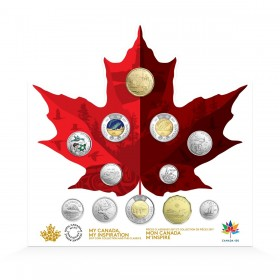 2017 Canada 12-Coin Collection - Canada 150 Celebration