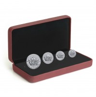 2017 Canada Fine Silver Fractional Set - Maple Leaf Tribute