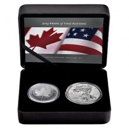 2019 Canadian Pride of Two Nations Limited Edition 2-Coin Set