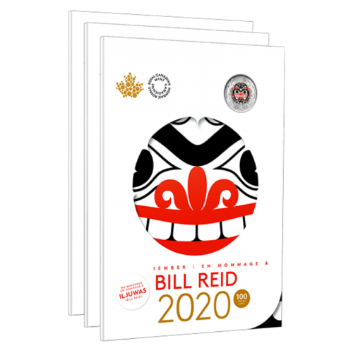 2020 Canadian 6-Coin Bill Reid Commemorative Collector Keepsake Set