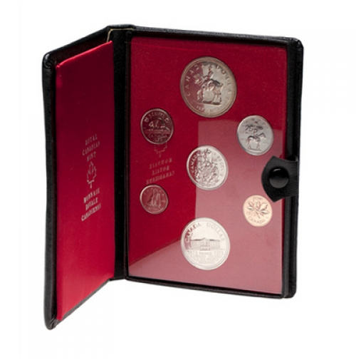 1973 Canadian Double Dollar Set