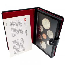 1978 Canadian Double Dollar Prestige 7-Coin Set - 11th Commonwealth Games, Edmonton-coins may be toned, cases not 100%