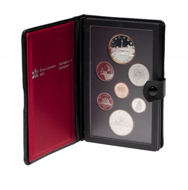 1984 Canadian Proof Double Dollar Set