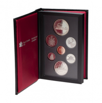 1986 Canadian Proof Double Dollar Set