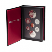 1987 Canadian Proof Double Dollar Set