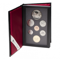 1989 Canadian Proof Double Dollar Set