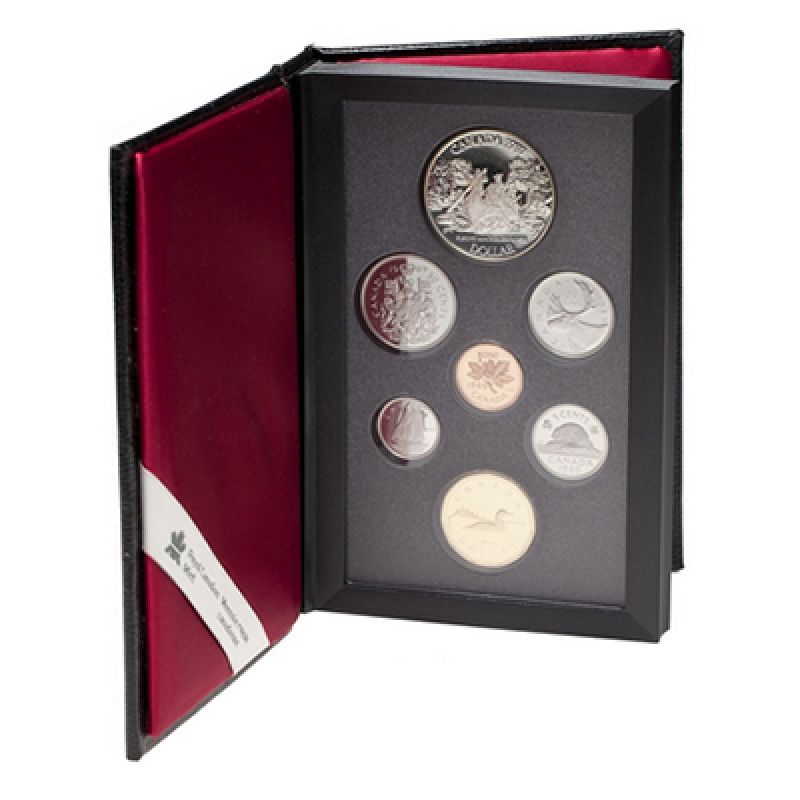 CANADA  1988   PROOF DOUBLE DOLLAR SET  ***7 COINS***