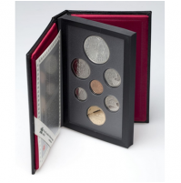 1995 Canadian Proof Double Dollar Set