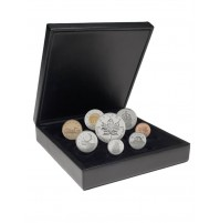 2001 Canadian Premium Proof Set with 1oz $5 Silver Maple Leaf