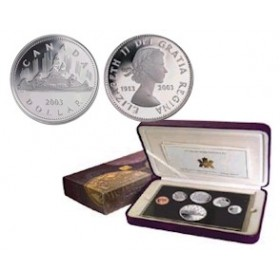 2003 Canada Special Edition Proof Set - 50th Anniversary of the Coronation