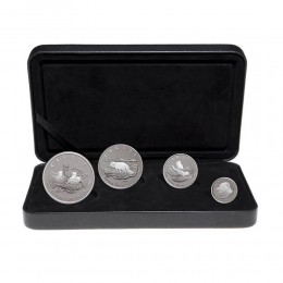 2004 Canada Fine Silver Fractional 4-Coin Proof Set - Canada Arctic Fox