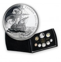 2004 Canada Proof Set - 400th Anniversary of the First French Settlement in North America