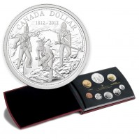 2012 Canada Proof Silver Double Dollar Set - 200th Anniversary of the War of 1812