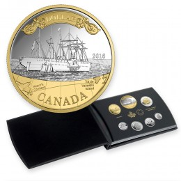 2016 Canadian Fine Silver Proof Set - 150th Anniversary of the Transatlantic Cable