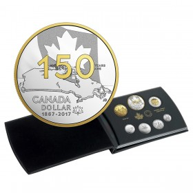 2017 Canada Special Edition Silver Dollar Proof Set - Canada 150: Our Home and Native Land