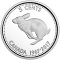 2017 (1967-) Canadian 1967 Centennial Coins - Fine Silver 7-Coin Commemorative Set