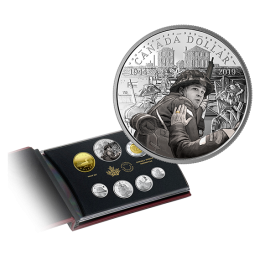 2019 Canadian 75th Anniversary of D-Day Silver Dollar Proof Set (Special Edition)