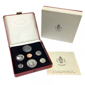 1967 (1867-) Canadian Confederation Centennial Proof-like Presentation Coin & Medallion Set