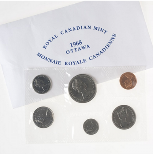 1968 Canadian Uncirculated Proof-Like Set
