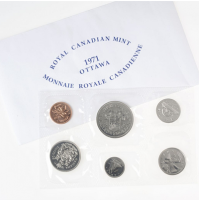 1971 Canadian Uncirculated Proof-Like Set - British Columbia Centennial