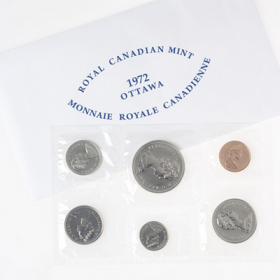 1972 Canadian Uncirculated Proof-Like Set