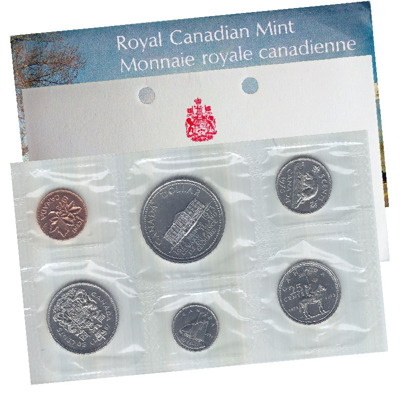 CANADA PROOF LIKE SET 1973 LARGE BUST