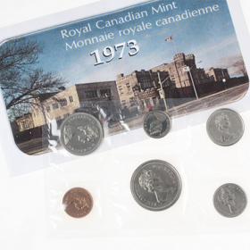 1973 Canadian Small Bust Uncirculated Proof-Like Set