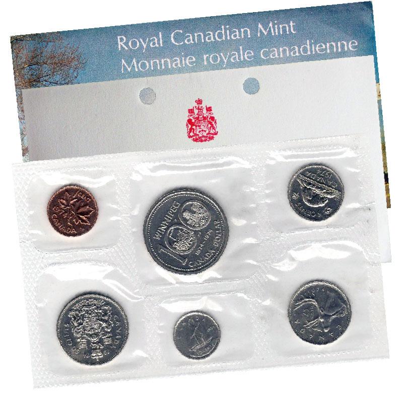 Canada 1974 UNCIRCULATED PROOF LIKE  SET