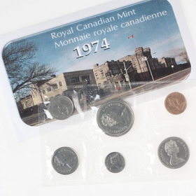 1974 Canadian Uncirculated Proof-Like Set