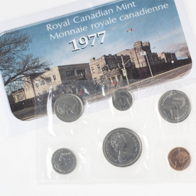 1977 Canadian Full Water Line Variety Uncirculated Proof-Like Set