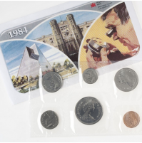 1984 Canadian Uncirculated Proof-Like Set