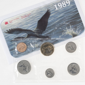 1989 Canadian Uncirculated Proof-Like Set
