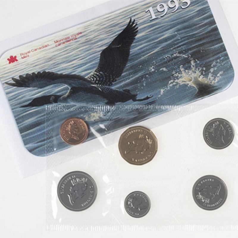 1993 Canada Uncirculated Proof-Like Set