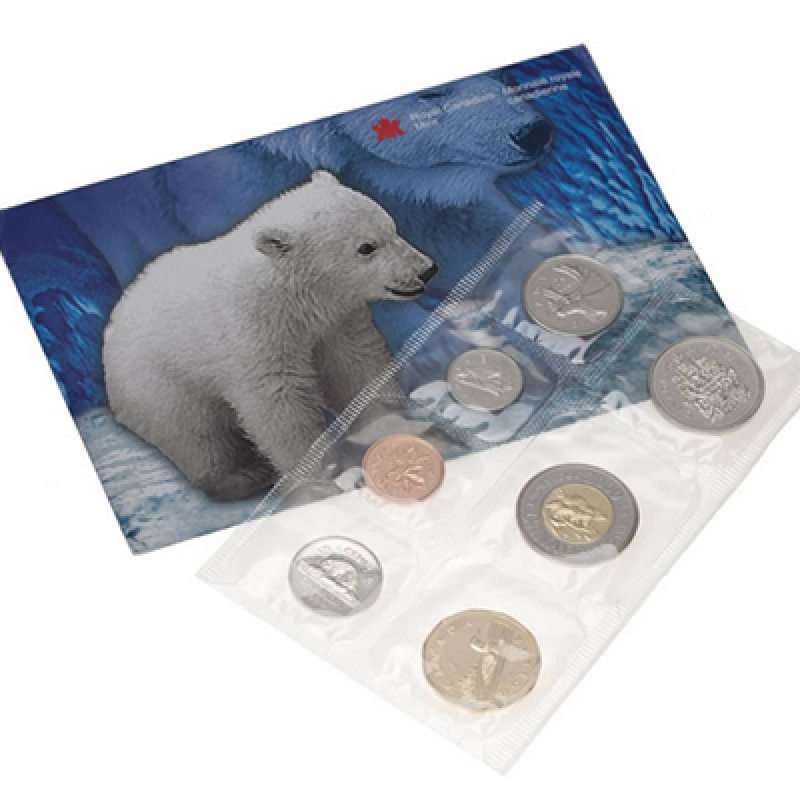 2000 Canadian Uncirculated Proof-Like (PL) Coin Set - Ottawa