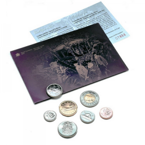 2002 Canada Special Edition Uncirculated Coin Set -  Golden Jubilee