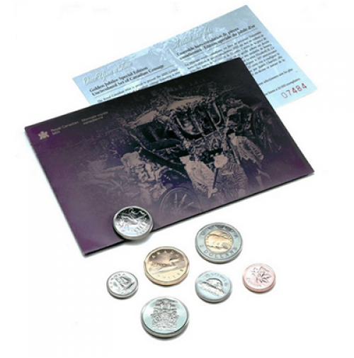 2002 Canadian Jubilee Uncirculated Proof-Like Set