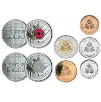 2004 The Poppy Test Token Uncirculated Proof-Like Set