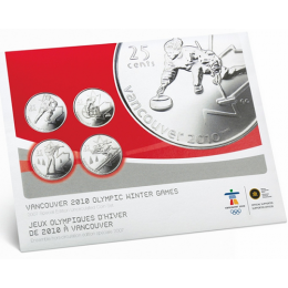2007 Canada Special Edition Olympic Uncirculated Proof-Like Set