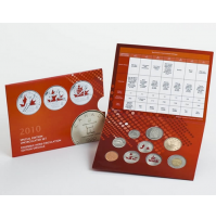 2010 Canadian Olympic Special Edition Uncirculated Proof-Like Set