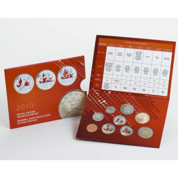2010 Canada Special Edition Olympic Uncirculated Proof-Like Set