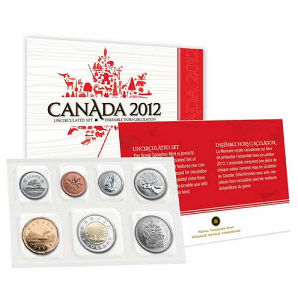 2012 Canadian Uncirculated Proof-Like Set