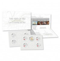 2013 Canadian Special Edition Uncirculated Proof-Like Set - The War of 1812