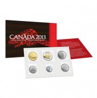 2013 Canadian Uncirculated Proof-Like Set