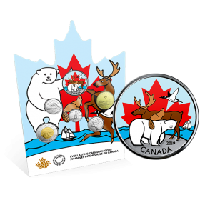 2019 Canadian Circulation Coin Set - Everlasting Canadian Icons