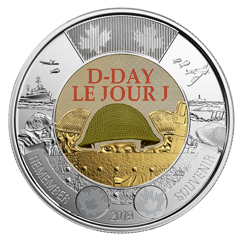 d day 2 coin