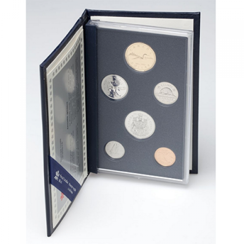 1992 (1867-) Canadian 6-Coin Confederation 125th Anniversary Specimen Set